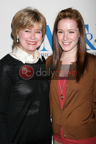 Jane Pauley and daughter Rachel<br />