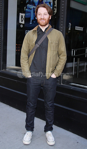 NEW YORK, NY - APRIL 14: Rob Meyer seen after an appearance on AOL's Build Series in New York City on April 14, 2017. Credit: RW/MediaPunch