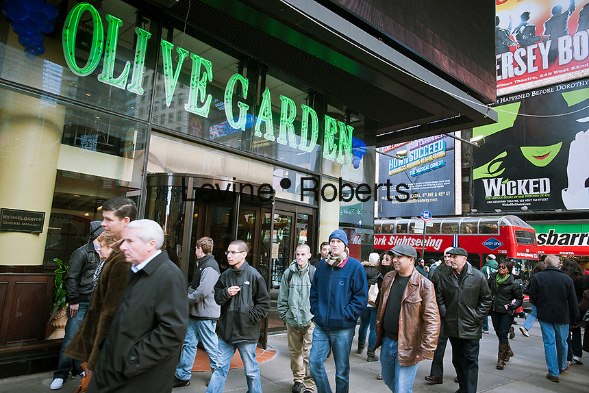Olive Garden Times Square