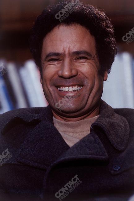 Muammar el-Qaddafi, leader of Libya, 1980.