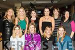 Santas homework<br /> ------------------------<br /> Teachers from Gael Scoil Lios Tuathail, having a good night at the Kingdom Greyhound Stadium, Tralee last Friday for their annual Christmas party, seated L-R Caroline Nic Chaoimh, Maria O'Keeffe, Sorcha U&iacute; Shuilleabhain&amp;Deirdre Aghas, back L-R Eileen Bar&oacute;id, Lisa N&iacute; Sheighin, Ayesha Quane, Louise N&iacute; R&iacute;ain, Marjorie U&iacute; Chonchubhair ages Mair&eacute;ad N&iacute; Chath&aacute;in U&iacute; Chonch&uacute;ir.