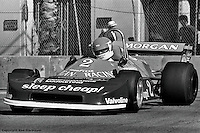 LONG BEACH, CA - APRIL 2: Bobby Rahal drives a Ralt RT1 during practice for the Formula Atlantic race on April 2, 1978, at the Long Beach temporary street course in Long Beach, California.
