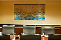 Commercial Projects - Large aluminum plate print - conference room DoubleTree Hotel Pittsburgh