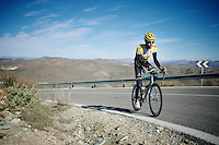 Laurens Ten Dam (NLD/LottoJumbo)<br /> <br /> Team Lotto Jumbo winter training camp<br /> Moj&aacute;car, Spain, January 2015