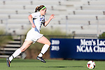 06 September 2013: Duke's Kelly Cobb. The Duke University Blue Devils hosted the West Virginia University Mountaineers at Koskinen Stadium in Durham, NC in a 2013 NCAA Division I Women's Soccer match. The game ended in a 1-1 tie after two overtimes.