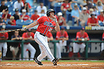 Mississippi's David Phillips bats vs. South Carolina during the Southeastern Conference tournament at Regions Park in Hoover, Ala. on Wednesday, May 26, 2010. Ole Miss won 3-0.