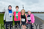 participants who took part in the Kerry's Eye Valentines Weekend 10 mile road race on Sunday were Billy Kissane, Brenda O'Connell, Carmel Hobbert and Joan O'Keeffe