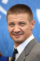 Jeremy Renner attends a press conference for 'Arrival' during the 73rd Venice Film Festival at Palazzo del Casino on September 1, 2016 in Venice, Italy.<br /> CAP/GOL<br /> &copy;GOL/Capital Pictures /MediaPunch ***NORTH AND SOUTH AMERICAS ONLY***