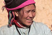 """Sur la route de Yen Minh à Dong Van. Village de Sung La  (lieu de tournage du film L'histoire de Pao"""")."""