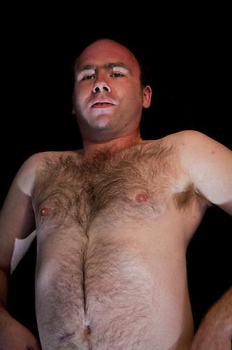 Ugly male model