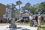 Steel Sculpture Dedication