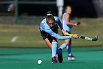 15 November 2014: North Carolina's Emily Wold. The University of North Carolina Tar Heels hosted the Liberty University Flames at Francis E. Henry Stadium in Chapel Hill, North Carolina in a 2014 NCAA Division I Field Hockey Tournament First Round game. UNC won the game 2-1.