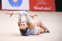 "February 7, 2014 - Tartu, Estonia - ALEKSANDRA EVDOKIMOVA (2001 junior) of Russia performs at ""Miss Valentine 2014"" international tournament."