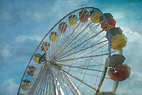 Ferris Wheel Sunny Day comforting