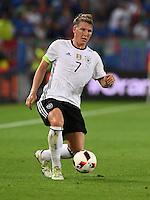 FUSSBALL EURO 2016 VIERTELFINALE IN BORDEAUX Deutschland - Italien      02.07.2016 Bastian Schweinsteiger  (Deutschland)