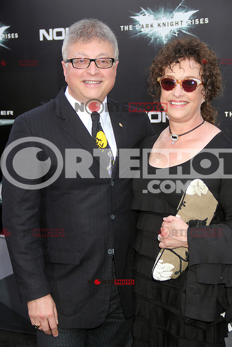 NEW YORK, NY - JULY 16:  Michael E. Uslan at 'The Dark Knight Rises' premiere at AMC Lincoln Square Theater on July 16, 2012 in New York City.  ©RW/MediaPunch Inc.