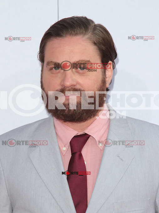 HOLLYWOOD, CA - AUGUST 02: Zach Galifianakis at the 'The Campaign' film premiere at Grauman's Chinese Theatre on August 2, 2012 in Hollywood, California. &copy;&nbsp;mpi21/MediaPunch Inc. /NortePhoto.com<br />