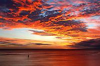 Cottesloe main beach sunset