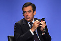 July 16, 2010 - Tokyo, Japan - French Prime Minister Fran&ccedil;ois Fillon attends the conference 'What Future for Europe and the Euro' in Tokyo, Japan, on July 16, 2010. Fillon is on a two-day visit in Tokyo and during his stay he will meet Japan Prime Minister Naoto Kan and members of the business community.