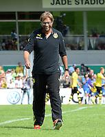 FUSSBALL       DFB POKAL 1. RUNDE        SAISON 2013/2014 SV Wilhelmshaven - Borussia Dortmund    03.08.2013 Trainer Juergen Klopp (Borussia Dortmund)