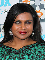 WEST HOLLYWOOD, CA, USA - JULY 20: Actress Mindy Kaling arrives at the FOX Summer 2014 TCA All-Star Party held at the Soho House on July 20, 2014 in West Hollywood, California, United States. (Photo by Xavier Collin/Celebrity Monitor)