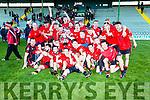 Winners Fossa in the Castleisland Mart Junior Club Football Championship Final Replay Beale V Fossa at Austin Stack Park on Sunday