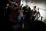 Angela Simmons poses on the red carpet outside the Hip-Hop Inaugural Ball, January 20, 2013 in Washington, DC.