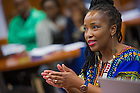 Jul. 2, 2014; YALI classroom session. Photo by Matt Cashore/University of Notre Dame