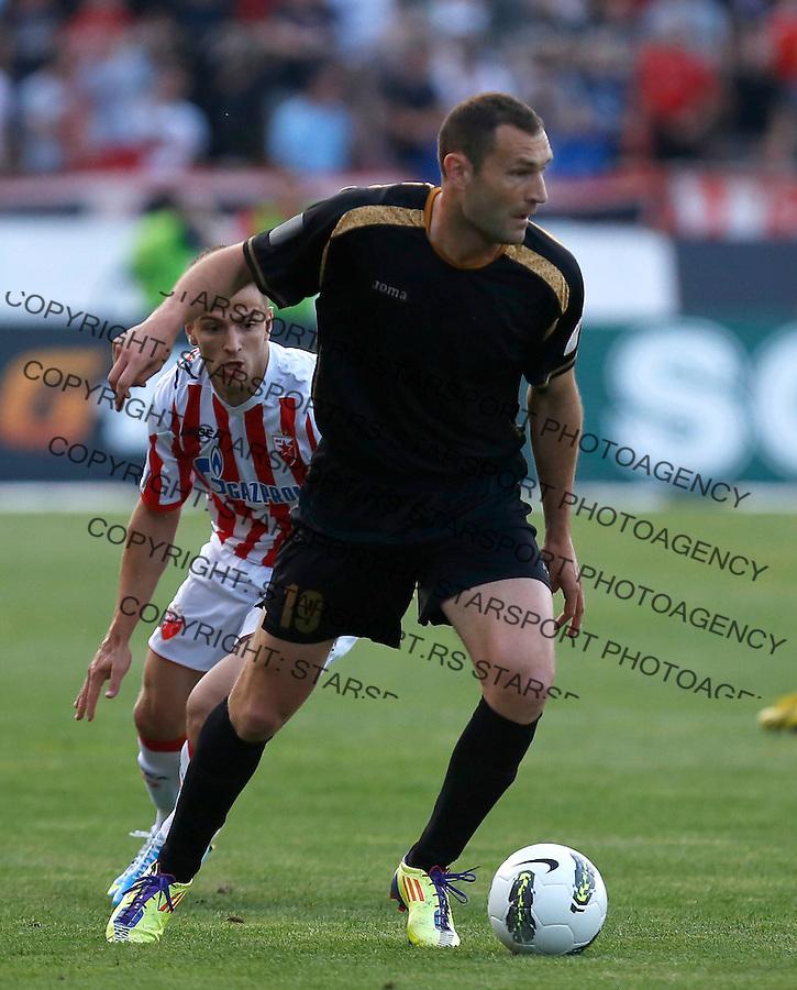 Fudbal Super liga season 2012-2013.Crvena Zvezda v Donji Srem.Goran Jankovic.Beograd, 04.27.2013..foto: Srdjan Stevanovic/Starsportphoto ©