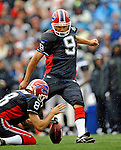 7 September 2008:  Buffalo Bills' placekicker Rian Lindell in action against the Seattle Seahawks at Ralph Wilson Stadium in Orchard Park, NY. The Bills defeated the Seahawks 34-10 in the season opening game...Mandatory Photo Credit: Ed Wolfstein Photo