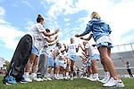 01 May 2016: North Carolina's Carly Reed (16). The University of North Carolina Tar Heels played the Syracuse University Orange at Lane Stadium in Blacksburg, Virginia in the 2016 Atlantic Coast Conference Women's Lacrosse Tournament championship match. North Carolina won 15-14 in overtime.