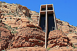 The Chapel of the Holy Cross in Sedona, Arizona.