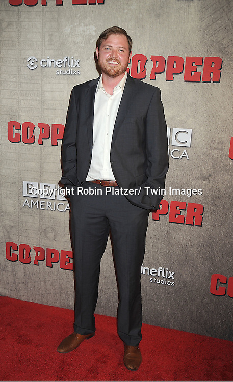 """actor Dylan Taylor attends the BBC America premiere of The New York 1860's Crime Drama """"Copper"""" on August 15, 2012 at MoMa in New York City."""