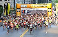 Pittsburgh Marathon 2012..Pete Madia/For the Pittsburgh Marathon.