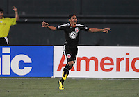 DC United midfielder Andy Najar (14) celebrates his score in the 107th minute of the game.    DC United defeated Real Salt Lake 2-1 to advance to the round of 16 of the  U.S. Open Cup at RFK Stadium, Wednesday  June 2  2010.