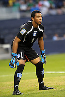 Jose Mendoza goalkeeper Honduras.. Mexico defeated Honduras 2-1 after extra time to win the CONCACAF Olympic qualifying trophy at LIVESTRONG Sporting Park, Kansas City, Kansas.
