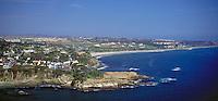 Luguna CA Aerial Coast, 3 Arch Bay, Salt Creek Beach, Waterfront, Luxury Home's Cliffs,