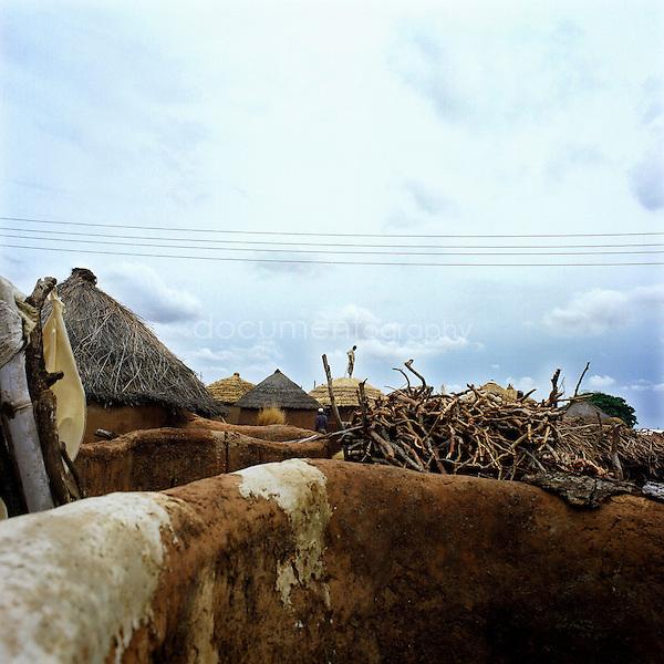 A village in Africa..