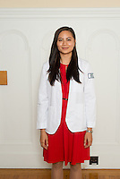Isobel Santos. Class of 2017 White Coat Ceremony.