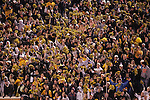 4 November 2006: Wake Forest fans celebrate after their team recovered a fourth quarter Boston College fumble. Wake Forest defeated Boston College 21-14 at Groves Stadium in Winston-Salem, North Carolina in an Atlantic Coast Conference college football game.