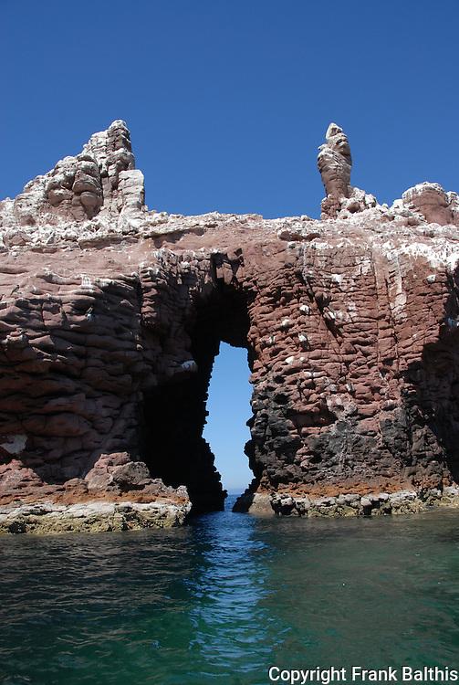 Sea cave at Los Islotes