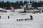 Photographs of John Baker's 2011 Iditarod run. White Mountain. Stephen Nowers/Alaska Dispatch.