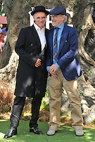 Mark Rylance &amp; Steven Spielberg at the &quot;The BFG&quot; UK film premiere, Odeon Leicester Square cinema, Leicester Square, London, England, UK, on Sunday 17 July 2016.<br /> CAP/CAN<br /> &copy;CAN/Capital Pictures /MediaPunch ***NORTH AND SOUTH AMERICAS ONLY***