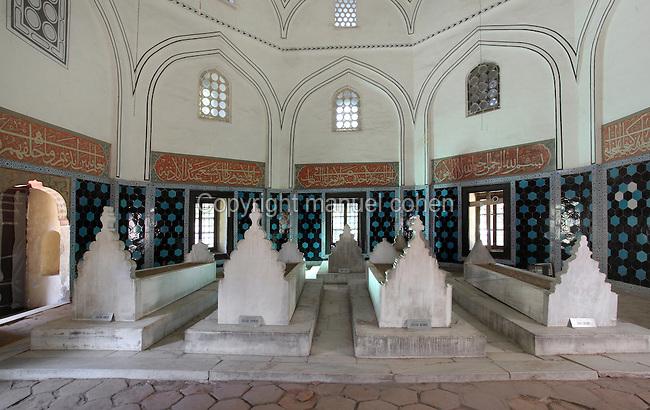 Tomb of Prince Ahmed, Bursa, Turkey  Manuel Cohen