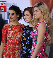 NEW YORK, NY-June 25:  Jenny Slate, Ellie Kemper, Lake Bell,  at Universal Pictures & Illumination Entertainment present the premiere of The Secret Life of Pets  at the  David H. Koch Theartre Lincoln Center in New York. NY June 25, 2016. Credit:RW/MediaPunch