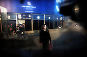 Warsaw 07.04.2008 Poland<br /> Woman standing in the center of Warsaw<br /> (Photo Adam Lach / Napo Images for Newsweek Polska)<br /> <br /> Kobieta stoi w centrum Warszawy przy rotundzie<br /> (Photo Adam Lach / Napo Images dla Newsweek Polska)