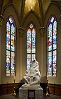 Jan. 10, 2012; Pieta Chapel, Basilica of the Sacred Heart..Photo by Matt Cashore/University of Notre Dame
