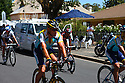 Lance Armstrong at the completion of Stage 4 of the Tour Down Under Pro Tour race on Friday, January 23, 2009 in Adelaide Australia