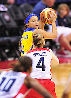 US Women defeated Brazil 99-67 during an exhibition game at the Verizon Center in Washington, D.C. on Monday, July 16, 2012. Alan P. Santos/DC Sports Box