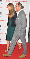 Jemima Khan and A A Gill at the &quot;Nocturnal Animals&quot; 60th BFI London Film Festival Headline gala screening, Odeon Leicester Square cinema, Leicester Square, London, England, UK, on Friday 14 October 2016.<br /> CAP/CAN<br /> &copy;CAN/Capital Pictures /MediaPunch ***NORTH AND SOUTH AMERICAS ONLY***